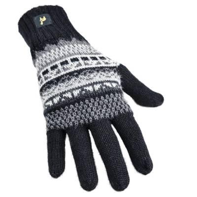 Alpaka Handschuhe Inka Uni 100% Baby Alpaka Damen und Herren