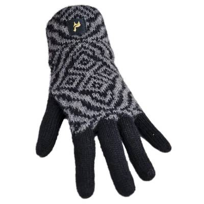 Alpaka Handschuhe Nazca für Damen 100% Baby Alpaka