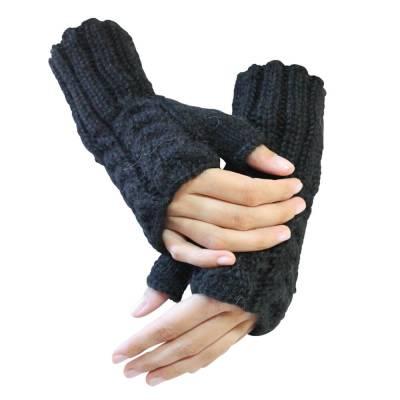 Alpaka Handschuhe Selina fingerlos für Damen sowie Herren Größen S-XL