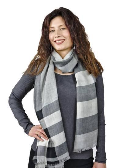 Alpaka Schal One Size Felizia Premium Baby Alpaka für Damen