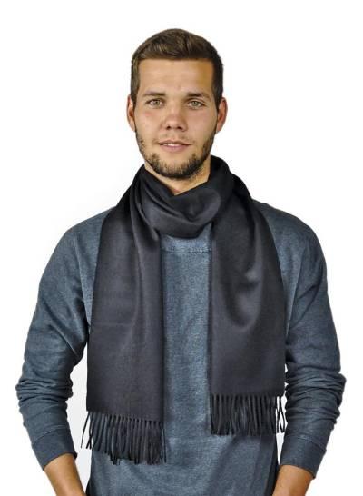 Premium 100% Baby Alpaka Schal Moskau Uni One Size Damen und Herren