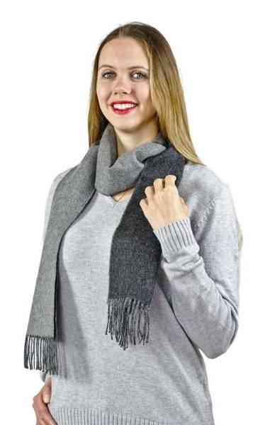 Damen und Herren Schal Oslo 100% Baby Alpaka Uni One Size für jeden Anlass