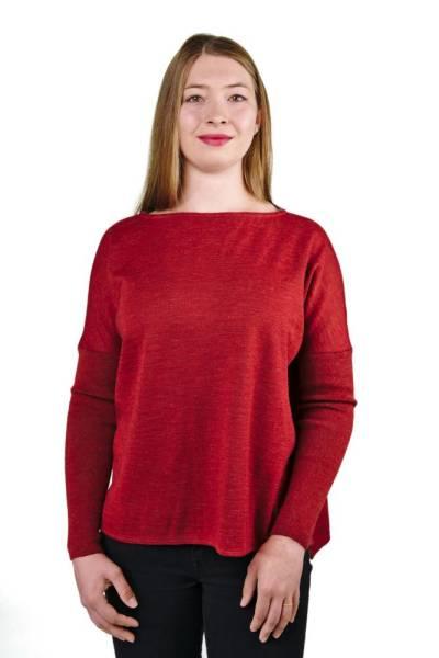 Alpaka Pullover Jessica 100% Premium Baby Alpaka für Damen
