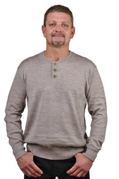 Herren Alpaka Pullover Puno 70% Baby Alpaka 30% Seide